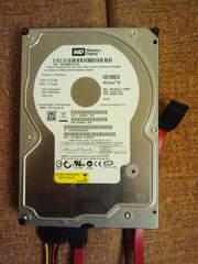 Жесткий Диск Винчестер HDD WESTERN DIGITAL 160GB