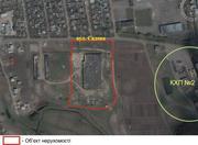 Продаv  участок 3.1895га,  и  цех 98м/п х 42м/п = 4116м2 в районе КХП-2