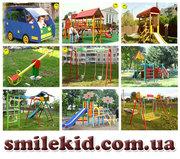 Игровые детские площадки от производителя,  детские спортивные комплекс