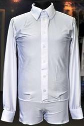 мальчиковая рубашка шортиками для бальных танцев