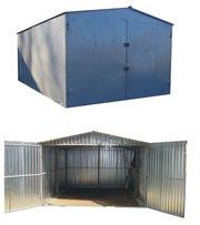 металевий гараж швидкозбірний з металу, різних розмірів