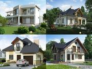Проекти будинків,  котеджів,  дач,  реконструкція