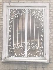 Кованая решетка на окна,  Луцьк