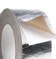 Скотч алюминиевый армированный Аленор. Монтажные ленты. Пенофол Изолон