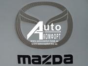 Вышивка логотипа автомобиля Mazda (Мазда)