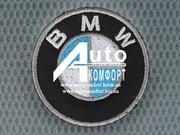 Вышивка логотипа автомобиля BMW (БМВ)