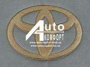 Вышивка логотипа автомобиля Toyota (Тойота)