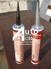 Герметик для уплотнения швов PU501 310мл (серый,  черный)