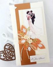 Свадебные конверты для денег,  ручная работа