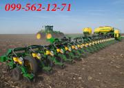 Услуги посева зерновых,  кукурузы,  подсолнуха. Аренда сеялки. Луцк.