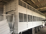 Двухэтажный полуприцеп скотовоз SCHMITZ (для перевозки животных)